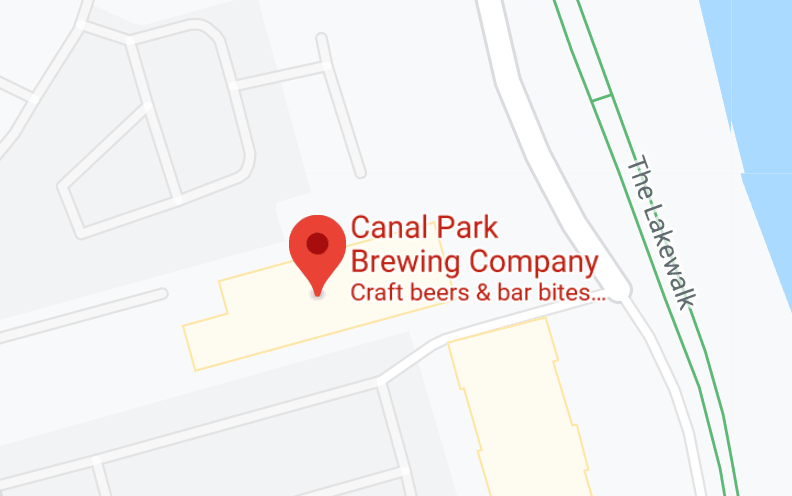 Map of Canal Park Brewery