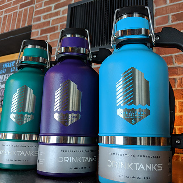 Multi-colored CPB DrinkTanks
