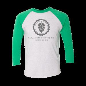 CPB Hop Logo Raglan Green