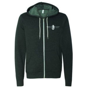 Dark Gray Zip-up Hoodie